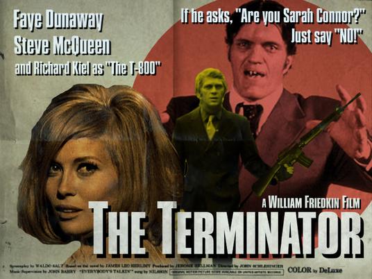Terminator poster reimaginado
