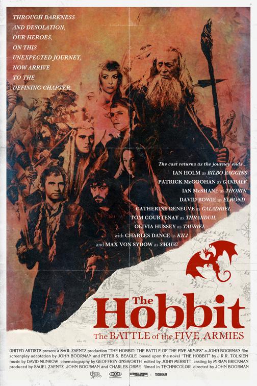 The-Hobbit-poster-reimaginado