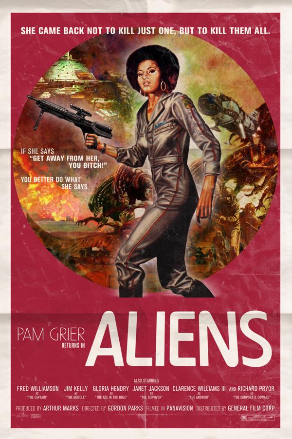 Aliens - Pam Grier