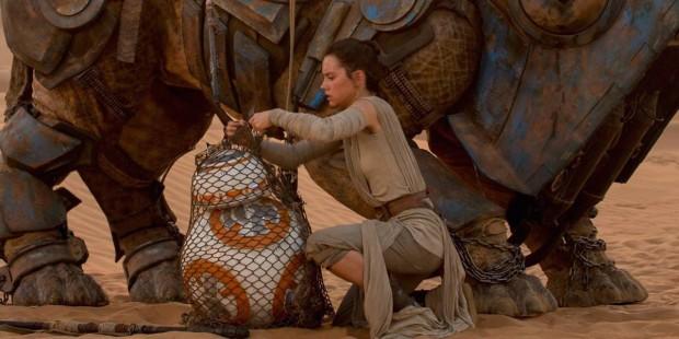 Star Wars: El despertar de la fuerza - Rey y BB8