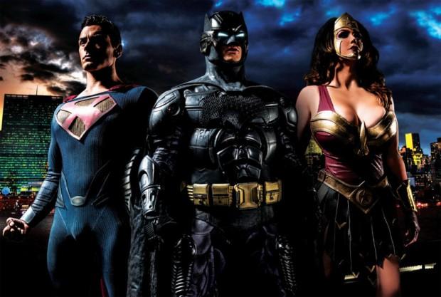 Batman v Superman XXX: A Porn Parody - poster