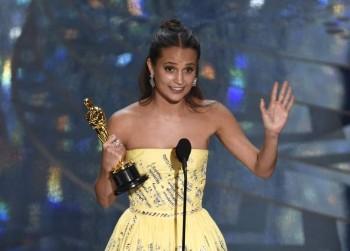 Alicia Vikander - Oscar 2016