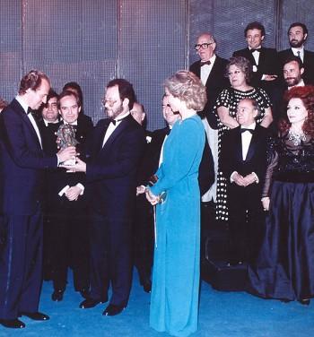 Goya 1987. Juan Carlos I