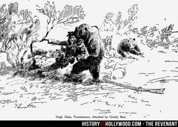 Hugh Glass ataque oso