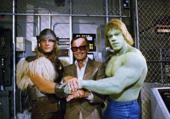 1 Hulk, Thor y Stan Lee
