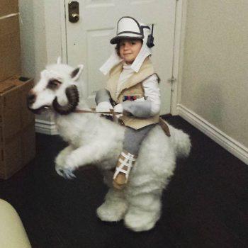Tauntaun costume 2016