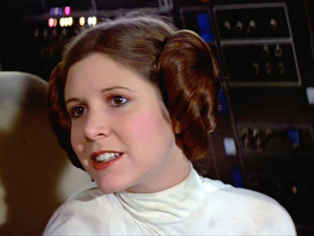 Carrie Fisher - Princesa Leia