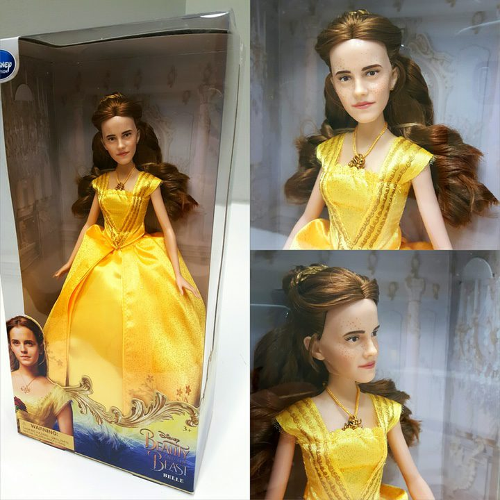Emma Watson bella y bestia muñeca