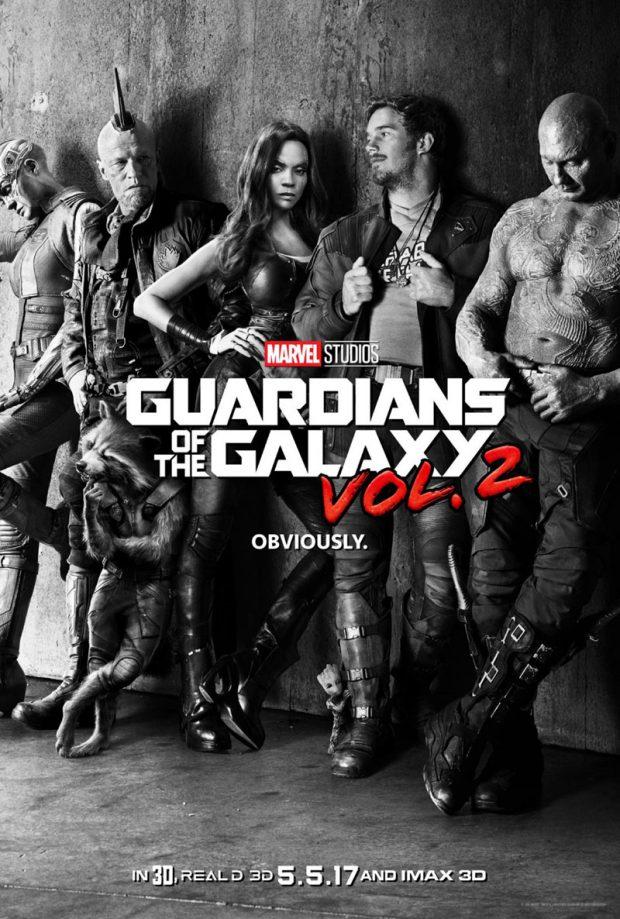 Guardianes de la galaxia vol 2 poster2