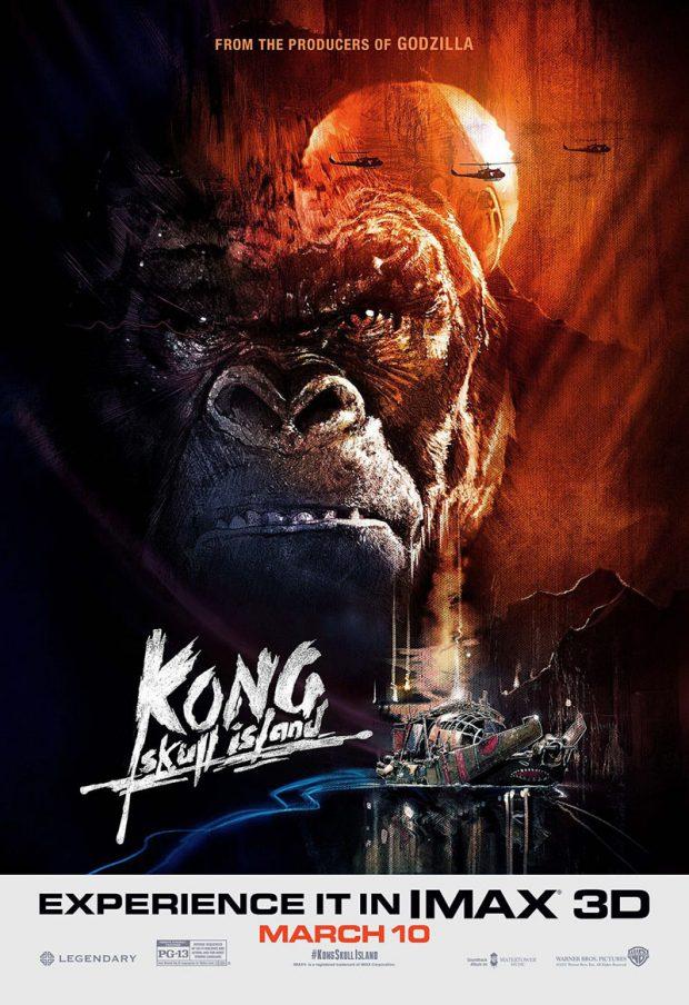 Kong La isla Calavera poster2017