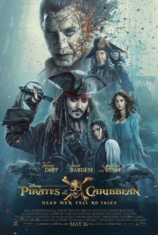 Piratas del Caribe 5 poster