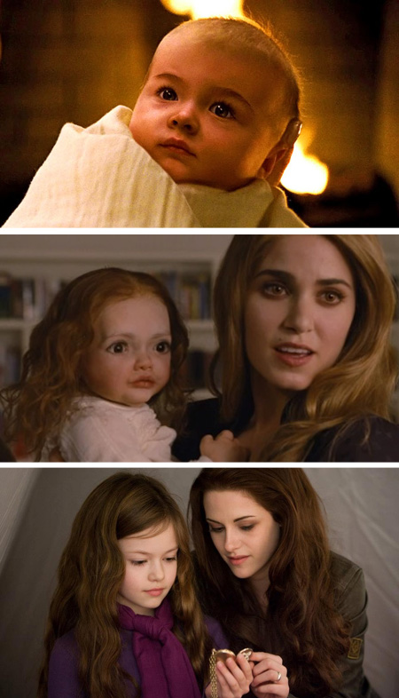 Renesmee Crepusculo - Amanecer Twilight