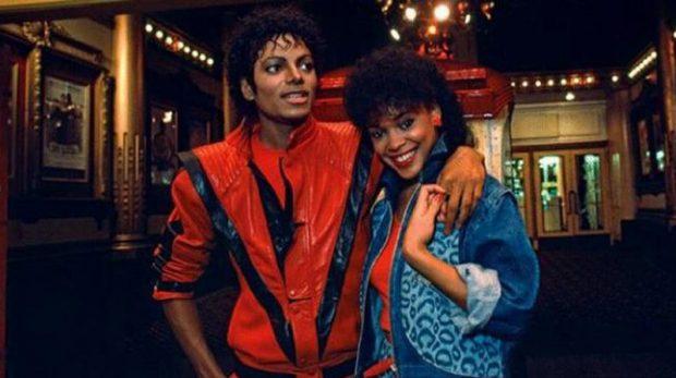 Ola Ray y Michael Jackson