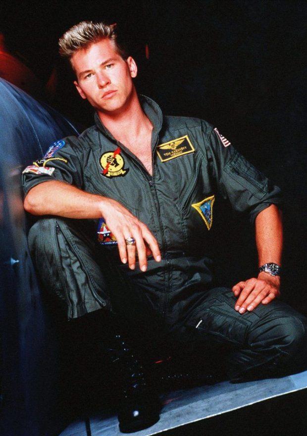 Val Kilmer (Iceman en Top Gun)