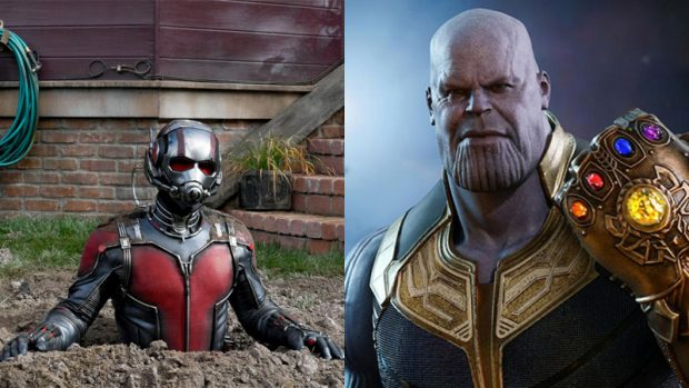 Thanos y Ant-Man