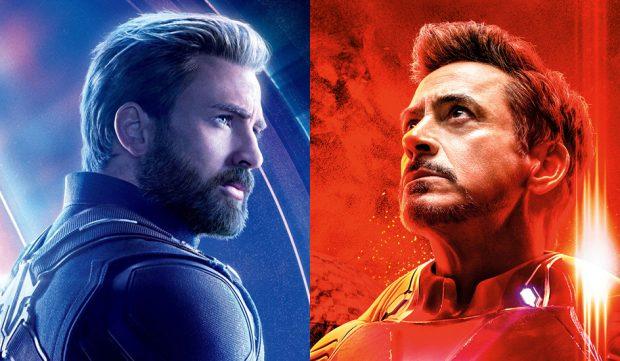 Iron Man y Capitán América (Vengadores)