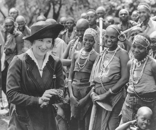 (Memorias de África, 1985 / Universal Pictures)
