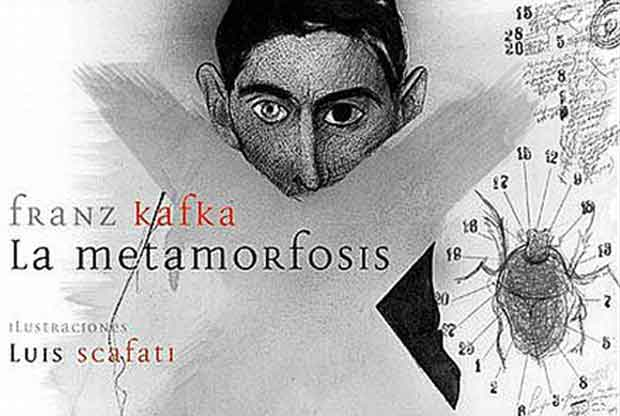La metamorfosis,Kafka. El Zorro Rojo. Ilustrado por Luis Scafati