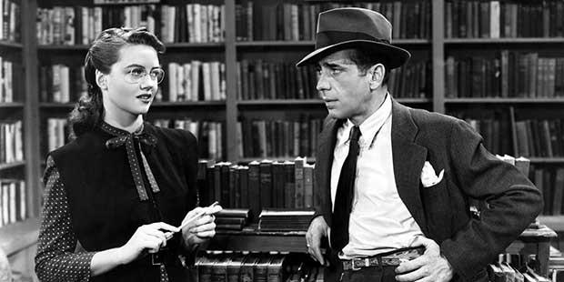 (El sueño eterno, 1945 / Warner Bros.)