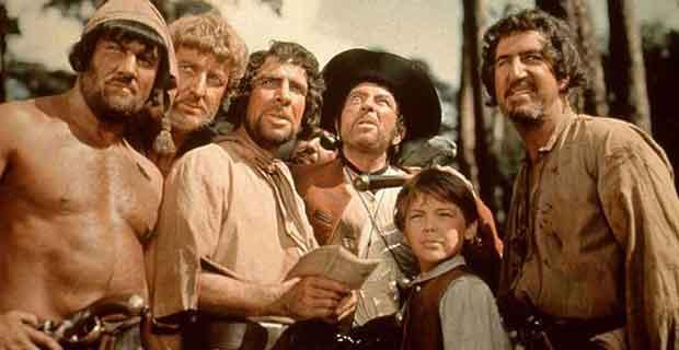 (La Isla del tesoro, 1950 / Disney)