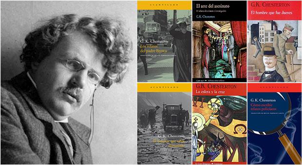 Seis libros para leer y sucumbir al ingenio mordaz de G.K. Chesterton