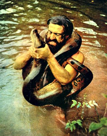 Miguel y la anaconda