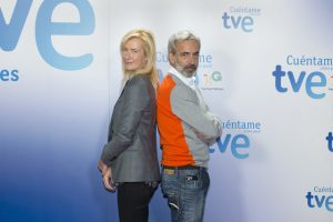 television cuentame como paso Ana Duato e Imanol Arias , en Cuéntame