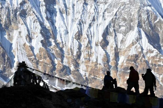 Expedición en el pico del Annapurna, en la cordillera del Himalaya. Firma: GTRES