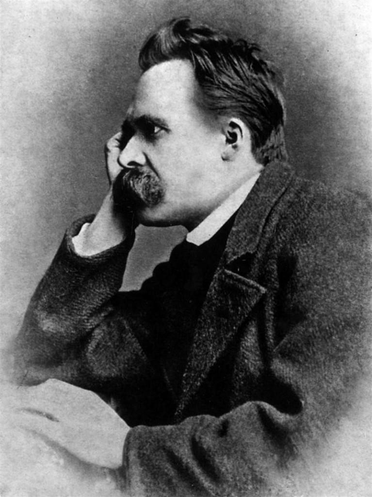 Portrait of Friedrich Nietzsche, 1882; One of five photographies by photographer Gustav Schultze