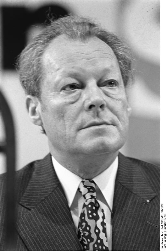 ADN-ZB/30.1.1973/BRD Willy Brandt (SPD), BRD-Kanzler