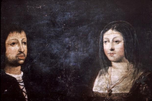 REtratos de Isabel y Fernando datado en 1469. (Creative Commons).