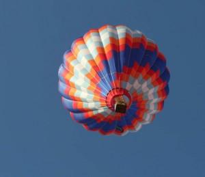 Imagen de un globo aerostático (GTRES).