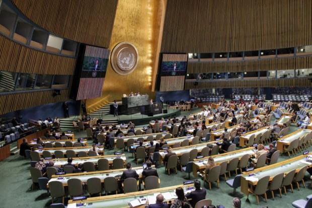 Vista general de una reunión de la Asamblea General de la ONU (KENA BETANCUR/EFE).