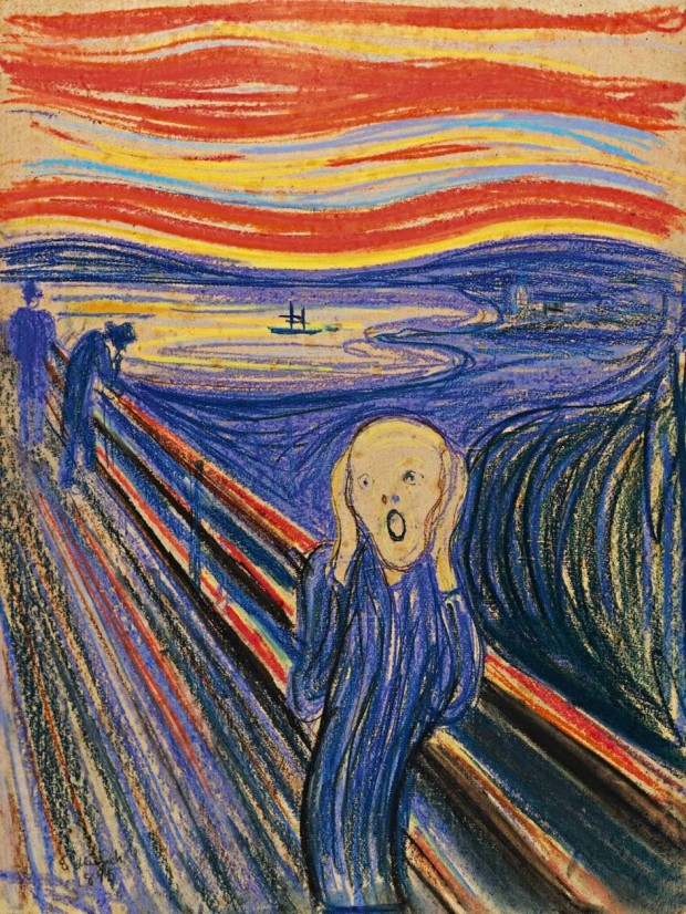 Una de las versiones de la obra más famosa del pintor noruego fue comprada en una subasta por 119,9 millones de dólares (110 millones de euros) (Wikipedia Commons).