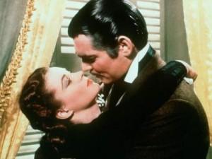Clark Gable en Lo que el viento se llevó.