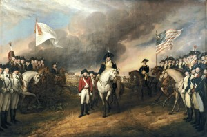 Surrender of Lord Cornwallis.
