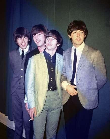 Fotografía de Los Beatles en 1964 (Archivo).