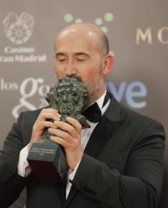 Javier Cámara obtuvo el Goya en 2014 por Vivir es fácil con los ojos cerrados (Jorge París).