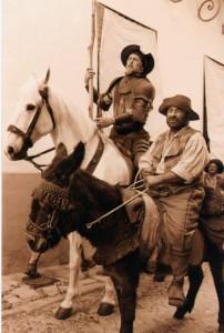 """En el año 2000 se metió en la piel de Sancho Panza en el telefilme Don Quijote en el que John Lithgow era """"el caballero de la triste figura"""" (ARCHIVO)."""