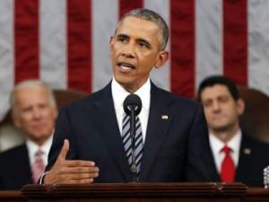 Barack Obama durante un discurso en 2015.