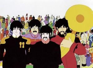 Una imagen de la película 'Yellow Submarine', The Beatles (GTRES).