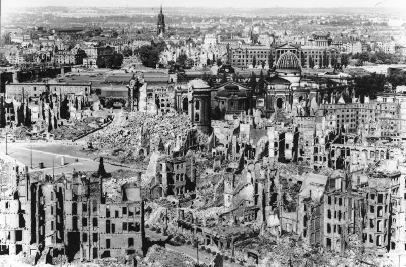 Bombardeo de Dresden.