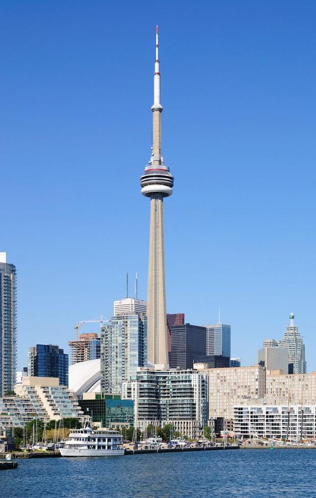 La Torre CN y el puerto de Toronto (Creative Commons).