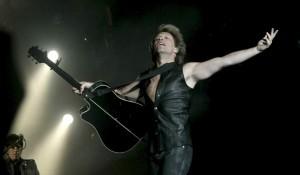 Bon Jovi, durante su concierto en el Rock in Rio de Madrid (Alberto Martín/EFE).