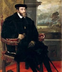 Carlos I de España.
