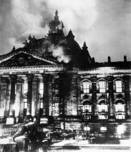 Incendio del Reichstag.