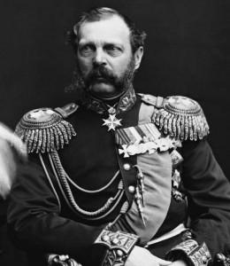 Alejandro II de Rusia.