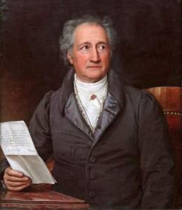 Wolfgang von Goethe.