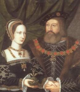 María Tudor y Charles Brandon.