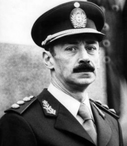 Jorge Rafael Videla.